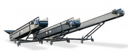 Conveyor lifting 4,5,6 m, new