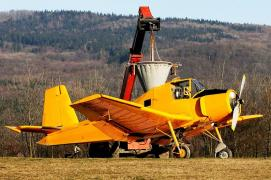 Fertilizer spreader services: Mi-2 helicopters An-2 aircraft