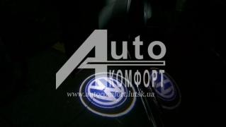 Tuning Backlight Installation laser LED projector logo of Your car